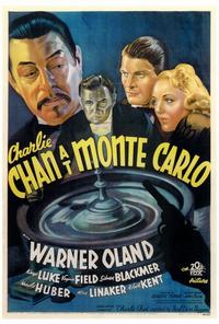 Charlie Chan At Monte Carlo - 27 x 40 Movie Poster - Style A