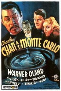 Charlie Chan At Monte Carlo - 43 x 62 Movie Poster - Bus Shelter Style A