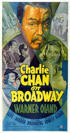 Charlie Chan At Monte Carlo - 20 x 40 Movie Poster - Style A