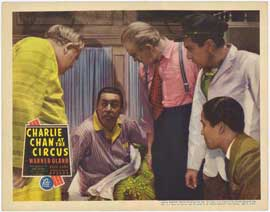 Charlie Chan At The Circus - 11 x 14 Movie Poster - Style A