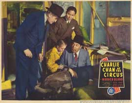 Charlie Chan At The Circus - 11 x 14 Movie Poster - Style B