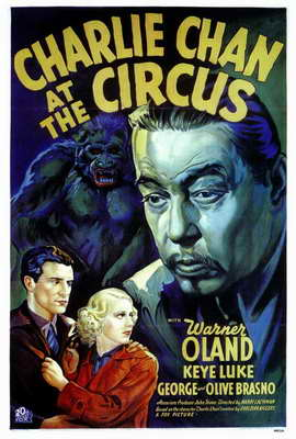 Charlie Chan At The Circus - 27 x 40 Movie Poster - Style A