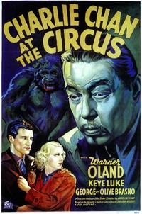 Charlie Chan At The Circus - 43 x 62 Movie Poster - Bus Shelter Style A