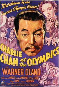 Charlie Chan at the Olympics - 43 x 62 Movie Poster - Bus Shelter Style A