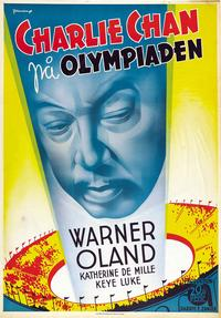 Charlie Chan at the Olympics - 11 x 17 Movie Poster - Swedish Style B