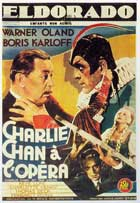 Charlie Chan at the Opera - 11 x 17 Movie Poster - French Style A