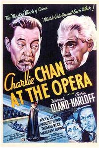Charlie Chan at the Opera - 43 x 62 Movie Poster - Bus Shelter Style A