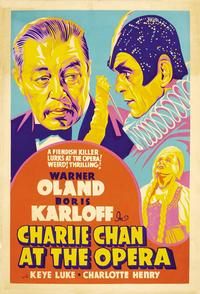 Charlie Chan at the Opera - 11 x 17 Movie Poster - Style B
