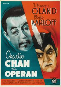 Charlie Chan at the Opera - 27 x 40 Movie Poster - Swedish Style C