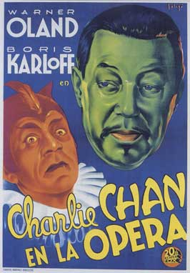 Charlie Chan at the Opera - 11 x 17 Movie Poster - Spanish Style A