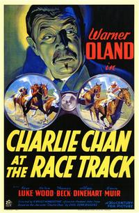 Charlie Chan at the Race Track - 11 x 17 Movie Poster - Style A