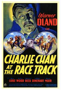 Charlie Chan at the Race Track - 27 x 40 Movie Poster - Style A