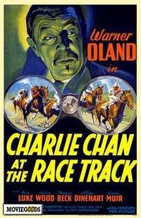 Charlie Chan at the Race Track - 43 x 62 Movie Poster - Bus Shelter Style A