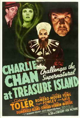 Charlie Chan at Treasure Island - 11 x 17 Movie Poster - Style A