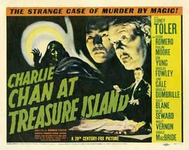 Charlie Chan at Treasure Island - 22 x 28 Movie Poster - Half Sheet Style A