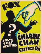 Charlie Chan Carries On - 11 x 17 Movie Poster - Style A