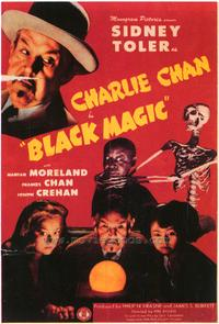 Charlie Chan in Black Magic - 43 x 62 Movie Poster - Bus Shelter Style A