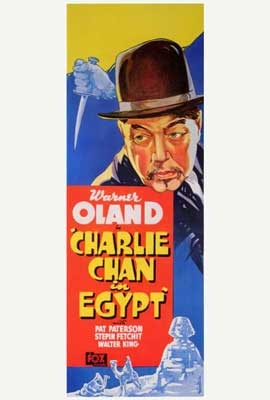 Charlie Chan in Egypt - 27 x 40 Movie Poster - Style A