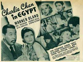 Charlie Chan in Egypt - 22 x 28 Movie Poster - Half Sheet Style A