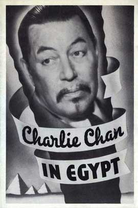 Charlie Chan in Egypt - 27 x 40 Movie Poster - Style B