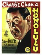 Charlie Chan in Honolulu - 11 x 17 Movie Poster - French Style A