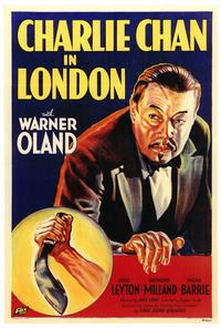 Charlie Chan in London - 27 x 40 Movie Poster - Style A