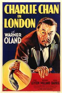 Charlie Chan in London - 43 x 62 Movie Poster - Bus Shelter Style A