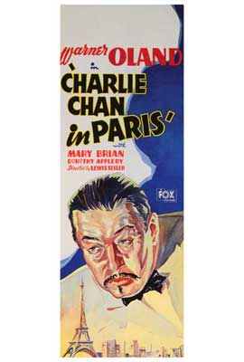 Charlie Chan in Paris - 27 x 40 Movie Poster - Style A