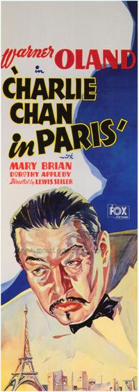 Charlie Chan in Paris - 43 x 62 Movie Poster - Bus Shelter Style A