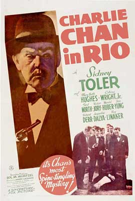 Charlie Chan in Rio - 11 x 17 Movie Poster - Style A