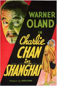 Charlie Chan in Shanghai - 43 x 62 Movie Poster - Bus Shelter Style A