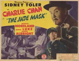 Charlie Chan in The Jade Mask - 11 x 14 Movie Poster - Style A