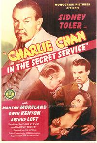 Charlie Chan in the Secret Service - 43 x 62 Movie Poster - Bus Shelter Style A