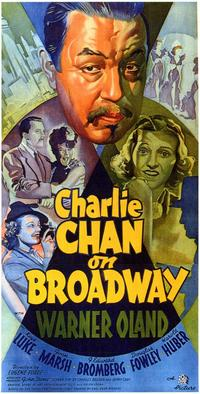 Charlie Chan on Broadway - 11 x 17 Movie Poster - Style B