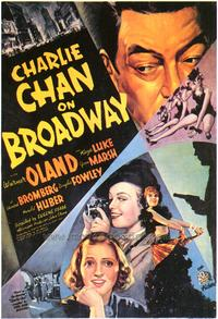 Charlie Chan on Broadway - 43 x 62 Movie Poster - Bus Shelter Style A