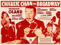 Charlie Chan on Broadway - 11 x 14 Movie Poster - Style E