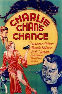 Charlie Chan's Chance - 43 x 62 Movie Poster - Bus Shelter Style A