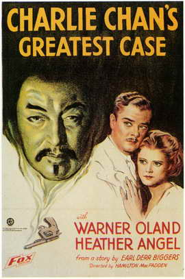 Charlie Chan's Greatest Case - 11 x 17 Movie Poster - Style A