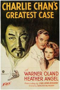 Charlie Chan's Greatest Case - 43 x 62 Movie Poster - Bus Shelter Style A