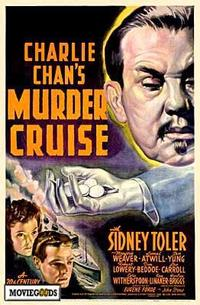 Charlie Chan's Murder Cruise - 43 x 62 Movie Poster - Bus Shelter Style A