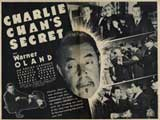 Charlie Chan's Secret - 30 x 40 Movie Poster - Style A