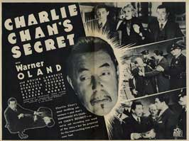 Charlie Chan's Secret - 11 x 14 Movie Poster - Style A
