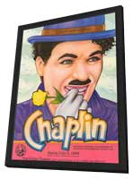 Charlie Chaplin Retrospective - 27 x 40 Movie Poster - Style A - in Deluxe Wood Frame