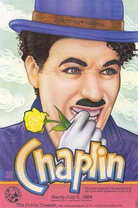 Charlie Chaplin Retrospective - 11 x 17 Movie Poster - Style A