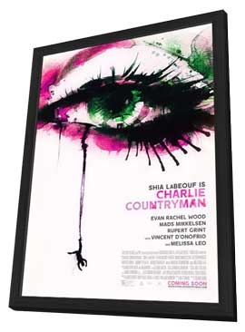Charlie Countryman - 11 x 17 Movie Poster - Style A - in Deluxe Wood Frame