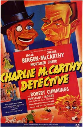 Charlie McCarthy, Detective - 11 x 17 Movie Poster - Style B