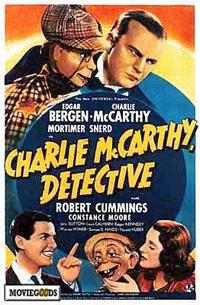 Charlie McCarthy, Detective - 43 x 62 Movie Poster - Bus Shelter Style A