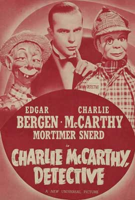 Charlie McCarthy, Detective - 27 x 40 Movie Poster - Style B