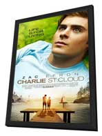 Charlie St. Cloud - 11 x 17 Movie Poster - Style A - in Deluxe Wood Frame