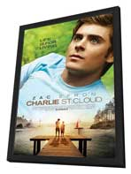 Charlie St. Cloud - 27 x 40 Movie Poster - Style A - in Deluxe Wood Frame